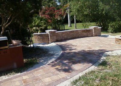 retaining wall in bradenton florida
