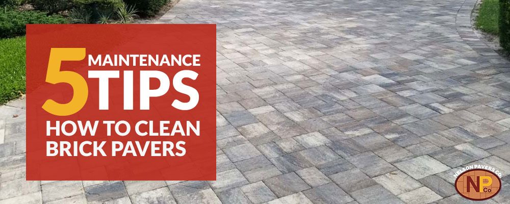 Venice Brick Pavers: 5 Maintenance Tips